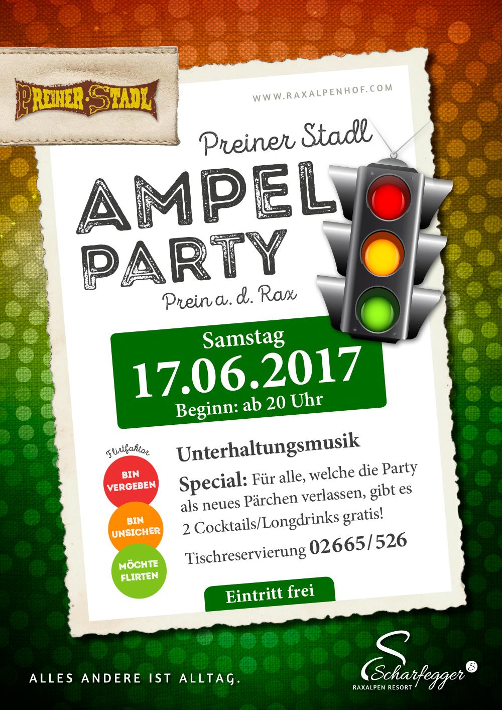 1. Preiner Stadl Ampelparty - Raxalpenhof